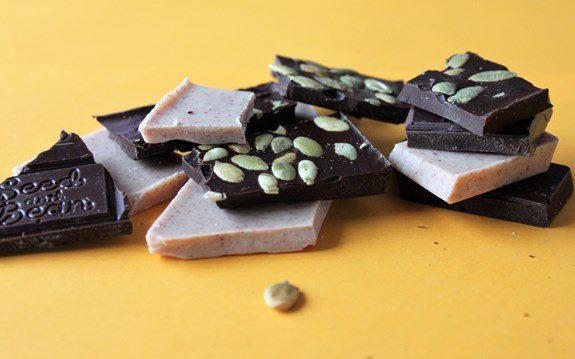 Czekolady Seed and Bean białe, gorzkie i mleczne - każdy znajdzie ulubioną