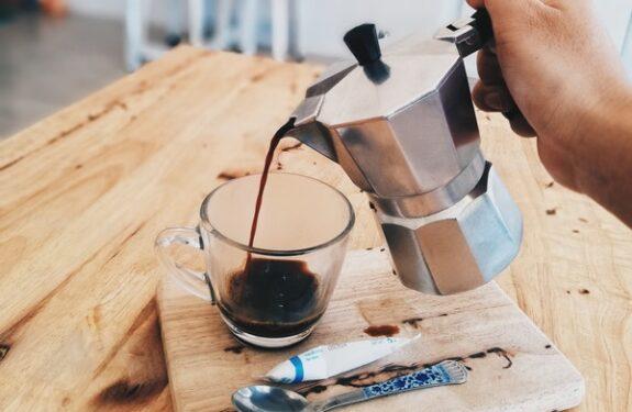 Twoje pięć minut przy filiżance aromatycznej kawy...
